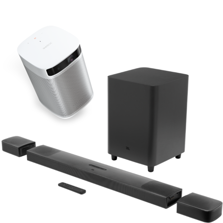 Zestaw kina domowego XGIMI MoGo Pro + JBL 9.1 Dolby Atmos